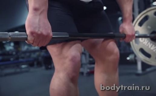 Становая тяга техника
