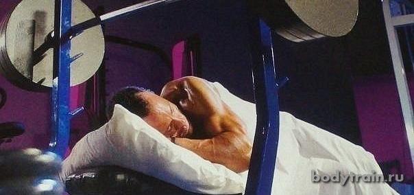 Мышцы растут во сне