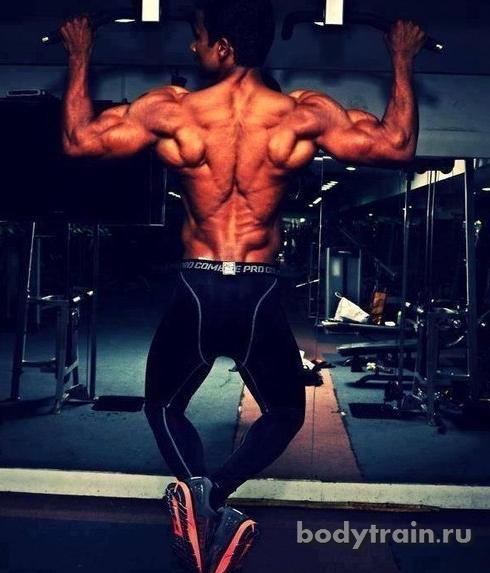 Подтягивания мышцы