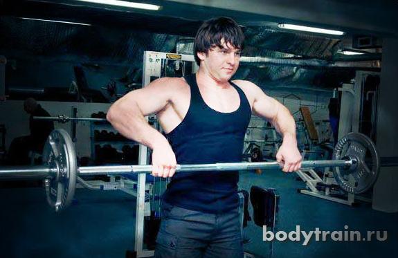 План тренировок для набора мышечной массы