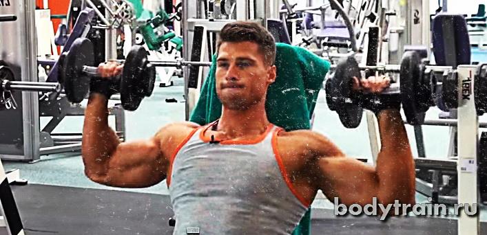 Упражнения для тренировки плеч