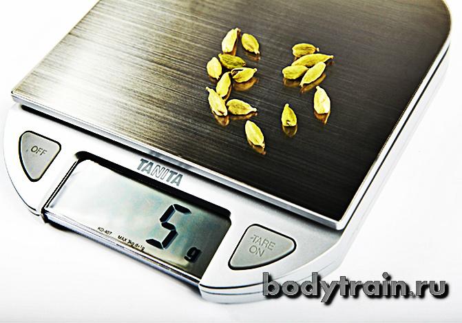 Кухонные весы для подсчета калорий