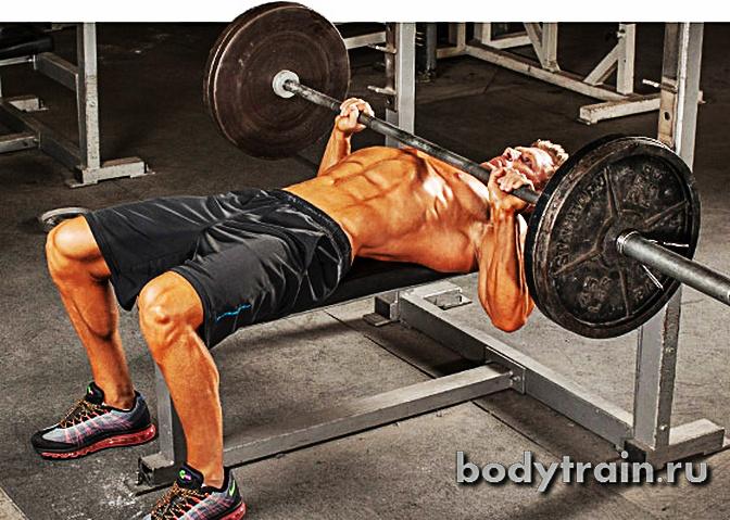 Упражнения на мышечную массу