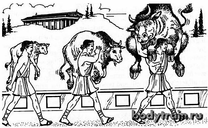 Культуризм по-древнегречески