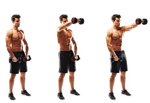 изолирующее упражнение, направленное на укрепление мышц плечевого пояса