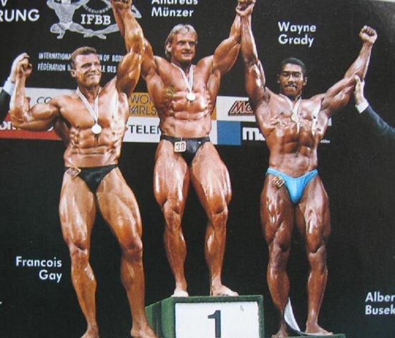 Франсуа Гай (Francois Gay), Андреас Мюнцер (Andreas Munzer), Уэин Гради (Wayne Grady). World Games 1989
