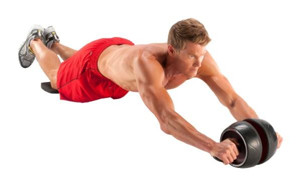 Упражнения с роликом для мужчин
