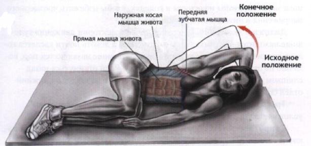 Как накачать все мышцы живота в домашних условиях 909