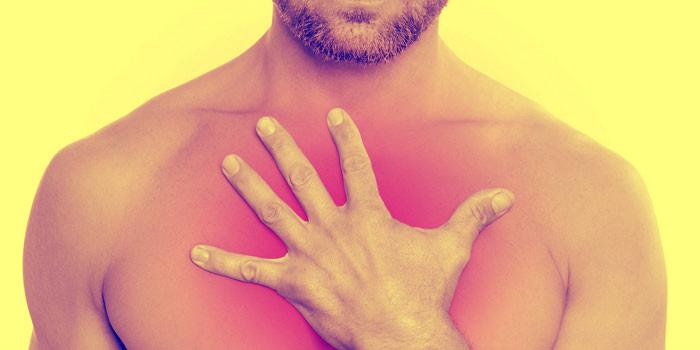 При межреберном остеохондрозе поражается грудной отдел позвоночника