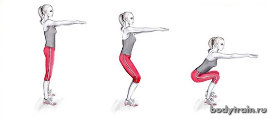 Накачать мышцы ягодиц дома