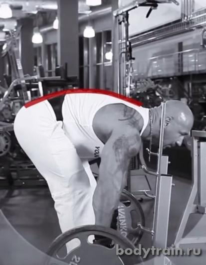 Кругление спины