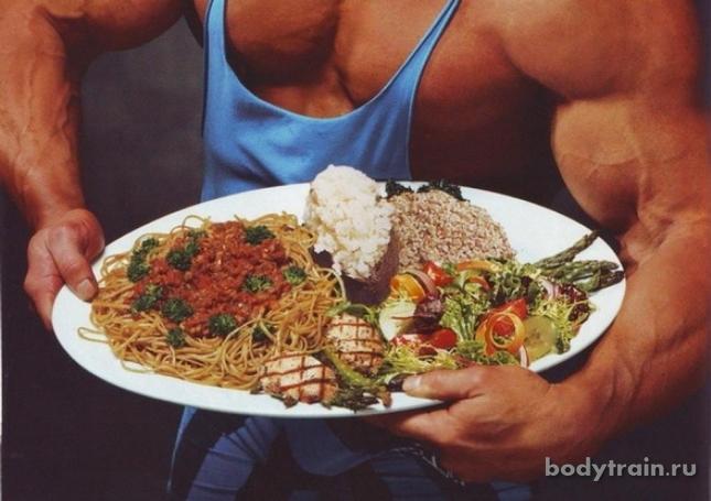 Питание для набор мышечной массы