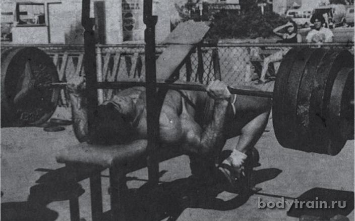 Жим лежа как увеличить вес