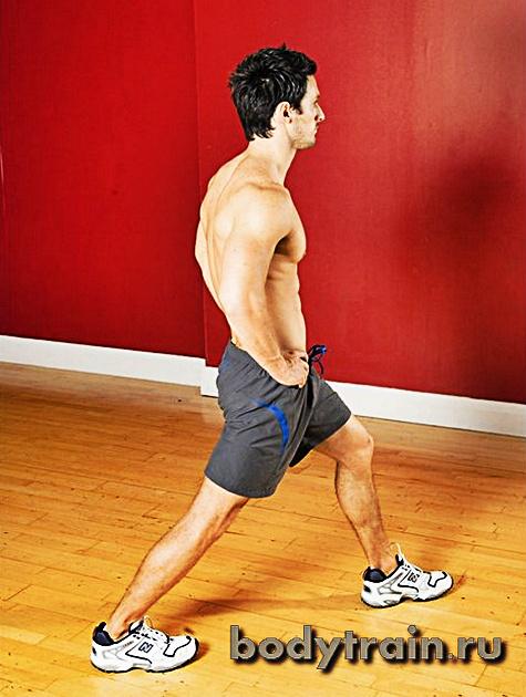 Растяжка икроножных мышц