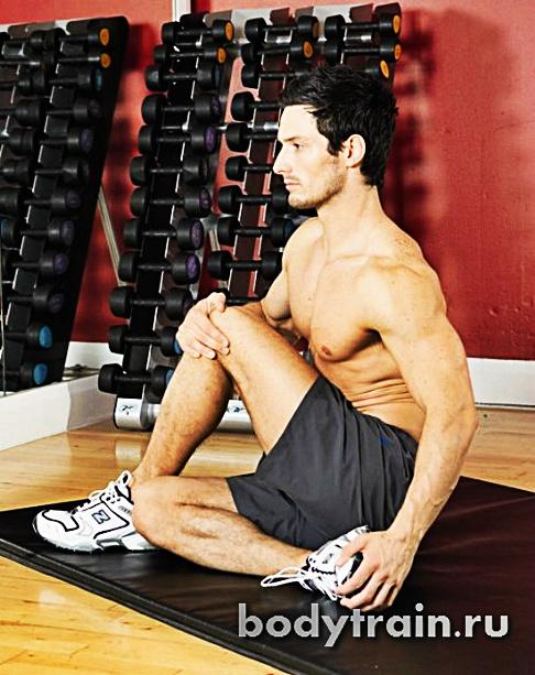 Растяжка ягодичных мышц