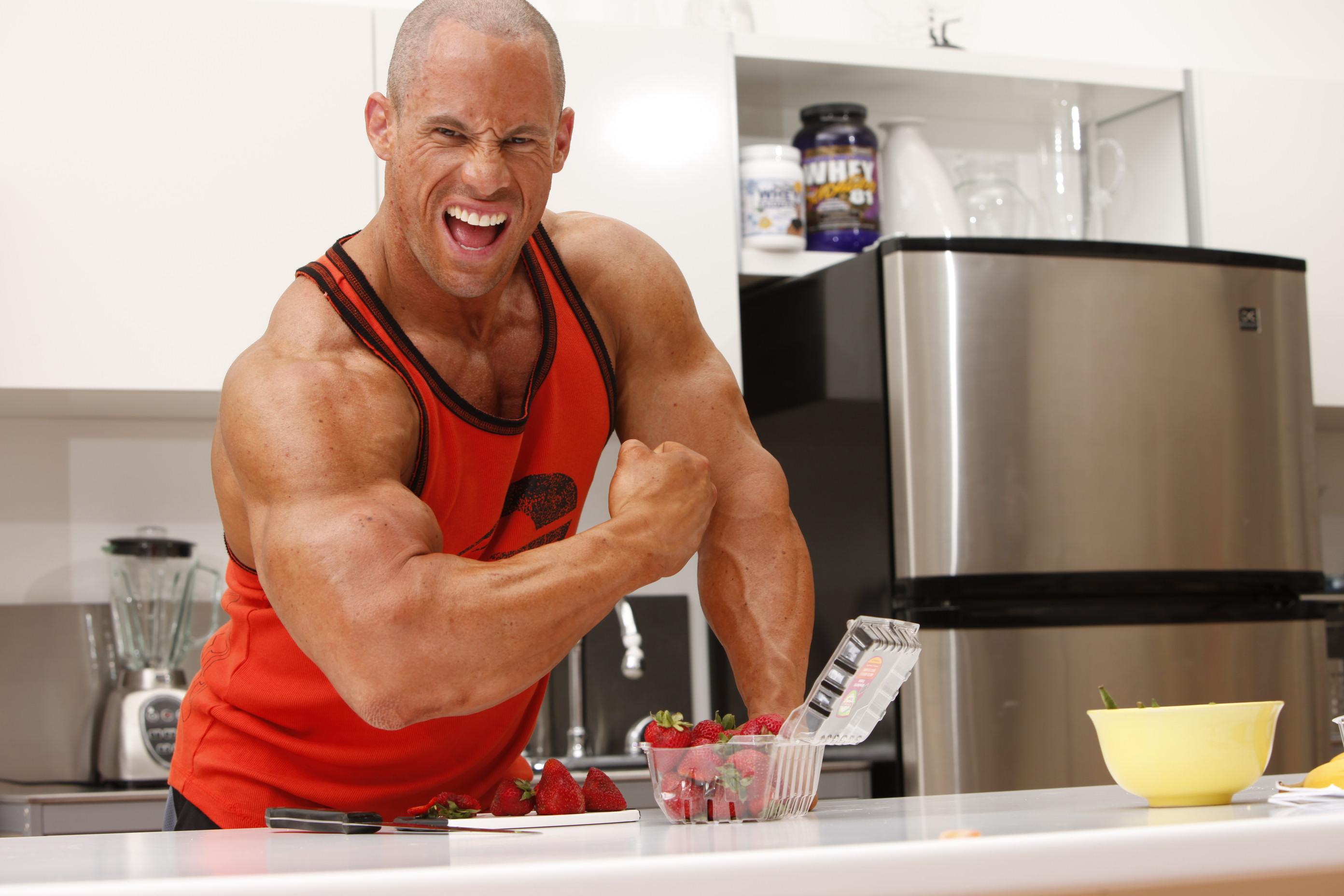 спортивная диета для мышц