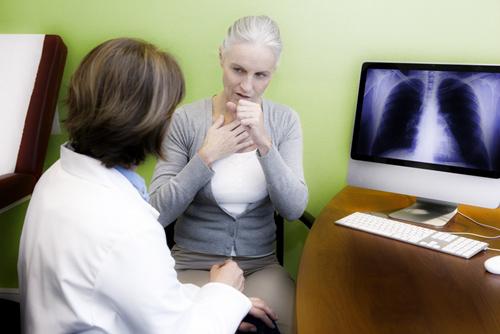 Одышка относится к неспецифическим признакам заболевания