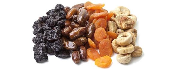 Сухофрукты и орехи при похудении