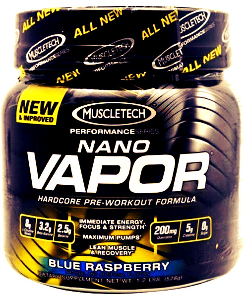 Nano Vapor Muscle Tech